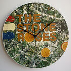 """The Stone Roses Collection - 12"""" Vinyl Record Wall Clocks - Not Picture discs"""