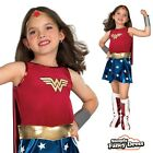Child Deluxe WONDER WOMAN Super Hero Costume Girls Fancy Dress Outfit 3 - 10 yr