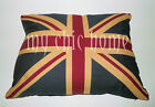 Vintage Union Jack Cushion | Country Flags | With Polyester Inner | Pillow