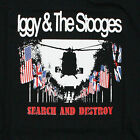 IGGY AND THE STOOGES T-SHIRT POP SEARCH UND DESTROY SPAß HOUSE ALLE GRÖßEN VTG