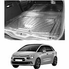 3pc boot liner load mat bumper protector Citroen C4 Picasso 13+ natural rubber