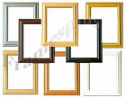 Wooden Poster Picture Frame Oak Black Gold Silver Pine Beech White Frames