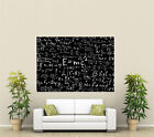 Maths EquationGiant 1 Piece  Wall Art Poster O138