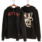 """IRON FIST HOODED SWEAT """" TOP O  OF THE  MORNING """" HOODY / HOODIE BLACK  (L4C)"""