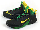 Nike Zoom Hyperfuse 2013 XDR Basketball Sneakers Black/Yellow-Green 615897-006