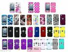 Hybrid High Impact Rugged Silicone Hard Case Cover fr Apple iPod Touch 5 5th Gen