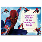 211/pink Personalised greeting card any name age relationship special gorgeous