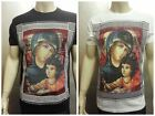 Sublimation Mary, Jesus t-shirts mens , Graphic design religious amazing colors.