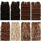 100% Brazilian Virgin Curly Human Hair ExtensionWater Deep Wave Weft Hair 20""