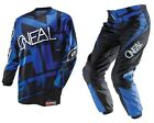 Oneal Mx 2014 Element Blue/Black Cheap Motocross Dirt Bike Off Road Gear Set