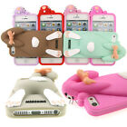 New Fashion 3D Cute Lovely Rabbit Pattern Case Cover for Apple iPhone 5 5S G