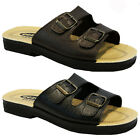 NEW MENS CASUAL OUTDOOR BUCKLE WALKING SUMMER HOLIDAY BEACH MULES SANDALS SHOES