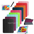 """Slim Shell Case Stand Cover for Samsung Galaxy Tab 4 10.1"""" SM-T530+Protector+Pen"""