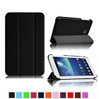 Slim PU Leather Shell Case Stand Cover for Samsung Galaxy Tab 3 Lite 7.0 SM-T110