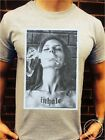 INHALE T Shirt Top Womens Mens Hipster All Galaxy Print Weed Smoke Saints Obey