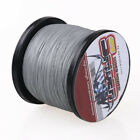 New!100M-2000M Grey 6LB-300LB Super Strong Dyneema Braid Sea Fishing Line