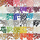 1000pcs 2,3,4,5,6mm Resin Rhinestone Flatback Scrapbooking Nail Craft no Crystal