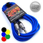 Купить Jack Guitar Lead: Cable Bass/Electric/Acoustic/Instrument to Amp, Life Warranty