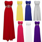 New Sequins long bridesmaid prom Formal Evening Cocktail Party Ball Gown dresses