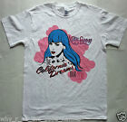 KATY PERRY - THE CALIFORNIA DREAMS World Concert Tour 2011 T-SHIRT - Brand New