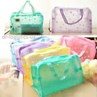 Waterproof Bathing Pouch Cosmetic Bag Toiletry Shower Hospital Soap Holiday Sun