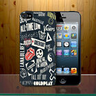 All Time Low Green Day Bastille Lana Vamps Beatles BMTH Hard Phone Case Cover