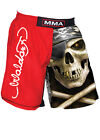Woldorf USA MMA Board Short Polyester Skull Sublimation embroidery Black L