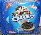 NABISCO OREO Creme Filled Golden Chocolate Sandwich Cookies LIMITED EDITION