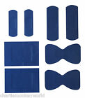 Blue Detectable Catering Plasters - 5 Sizes - First Aid - Choose Amount 25 - 200