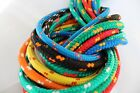 6mm Braided Polypropylene poly rope 100% sailing yacht boat various colours