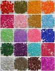 4.5,6,8,10MM WEDDING TABLE SCATTER CRYSTAL DIAMOND CONFETTI FAVOUR DECORATION