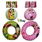 Disney Inflatable Swim Ring Armbands Beach ball Mickey Minnie Mouse Kids Set