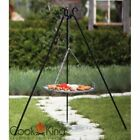GRILL ON A TRIPOD MADE BLACK STEEL BARBECUE OUTDOOR GARDEN GRATE NEW