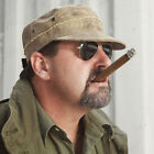 THE REAL DEAL CUBA LIBRE BRAZIL ADJUSTABLE CANVAS TARP CAP HAT WITH PATCHES NEW!