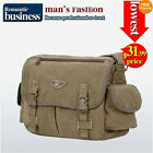 2031 Men backpack Canvas shoulder bag Large-capacity leisure package School bag