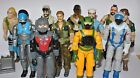 1985 Gi joe action force figures Snake eyes Tomax Xamot Snow Serpent Buzzer