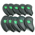 QuAliTy 10 xCLOVER Golf Iron Head Covers For Callaway Taylormade Titleist Irons