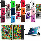 "For Apple iPad mini 3/2/1 7.9"" Rotating PU Leather Case Smart Cover Swivel Stand"