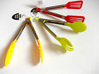 SERVING TONGS SILICONE NYLON  AND STAINLESS STEEL  CHOICE OF 3 DIFFERENT TONGS