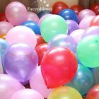 """10"""" 10pcs LATEX HELIUM OR AIR QUALITY BALLOONS FOR PARTY WEDDING BIRTHDAY DECOR"""