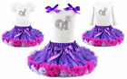 My Little Pony Twilight Sparkle Tutu Pettiskirt Outfit Pageant Party NWT 1-10Y