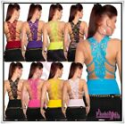 Sexy Women's Embroidery Top Ladies Summer Party Clubbing Top One Size 8,10,12 UK