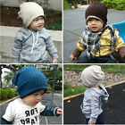 Children Baby Infant Toddler Beanie Casual Hat Warm Winter Boy Girl Earflaps Cap