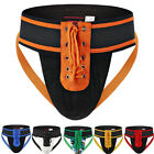 Mens Lace Up Athletic Jock Waistband Sexy Jock Strap Sports Briefs Underwears
