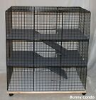 LARGE Rabbit Bunny Condo cage, HANDMADE, indoor pen home hutch carpeted NEW