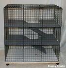 Rabbit Bunny Condo pet cage HANDMADE, Large indoor pen home hutch carpeted for sale  Shipping to Canada