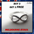 Infinity Ring Silver infinite knot fashion jewellery jewelry vintage love