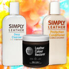 Leather Renovation Repair Kit inc. Colour Restorer, Cleaner & Conditioner.