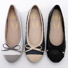 BN Soft Padded Cute Wedding Bowed Comfy Darling Ballerinas Flats Shoes 3 Colors