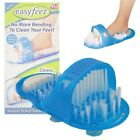 Shower Foot Feet Cleaner Scrubber Washer Easy Bath Brush Pumice Stone Massager